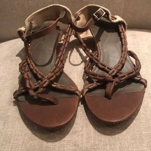 7 For All Mankind Juno sandals